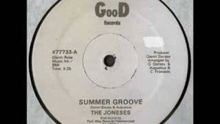The Joneses - Summer Groove