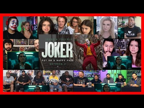 JOKER - Final Trailer Reaction Mashup