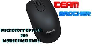 Microsoft Optical 200 Mouse Kutu Açılımı Ve İnceleme - TÜRKÇE