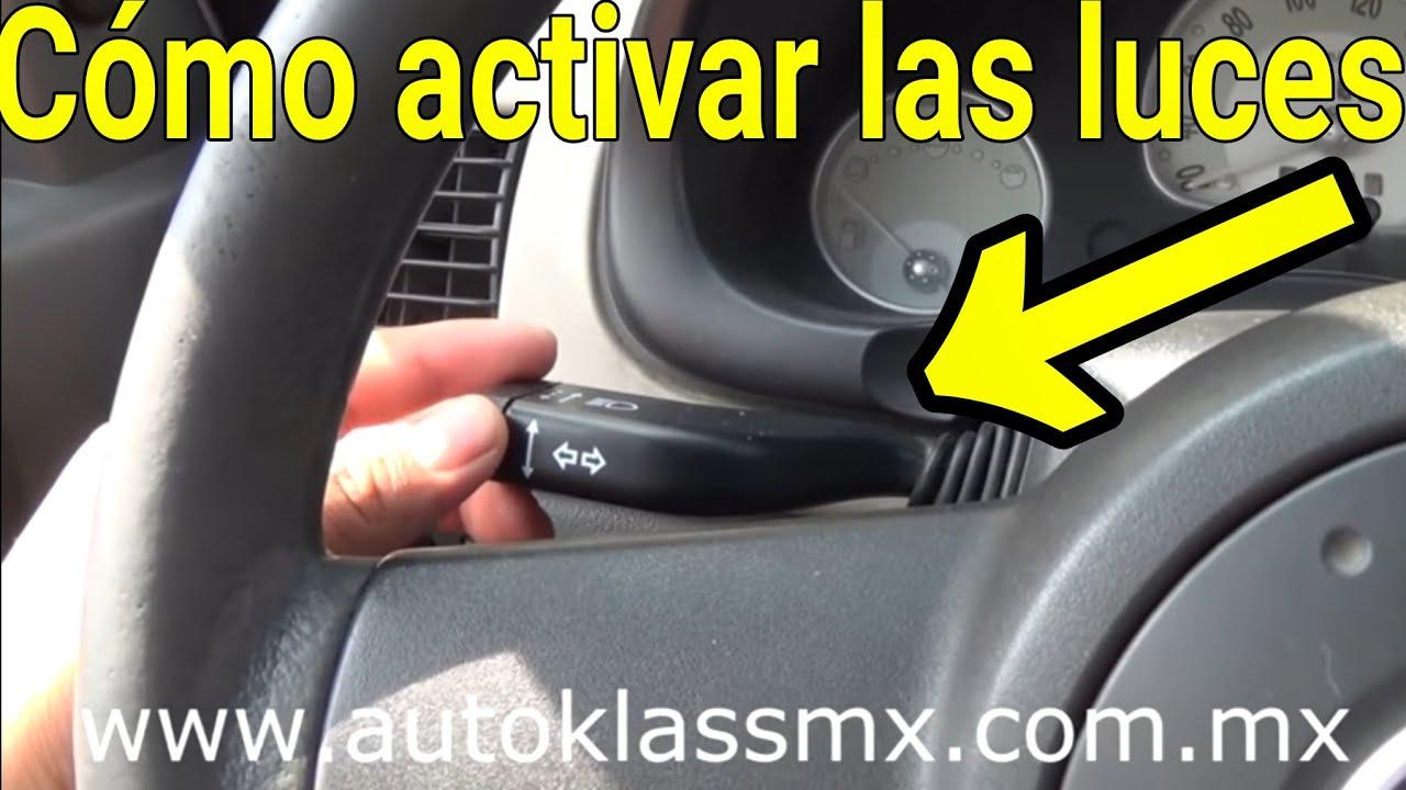 Como usar las luces de nuestro auto (V12 ...