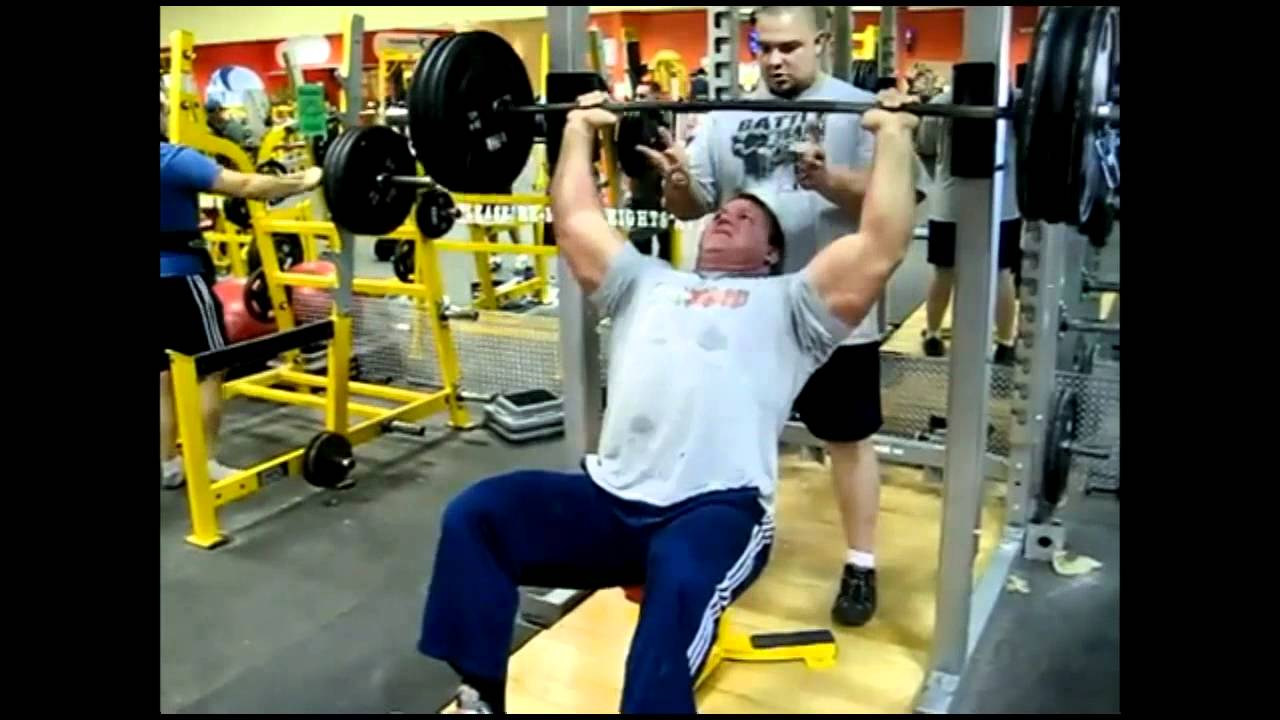 Derek Poundstone Training Shoulders - YouTubeDerek Poundstone Diet