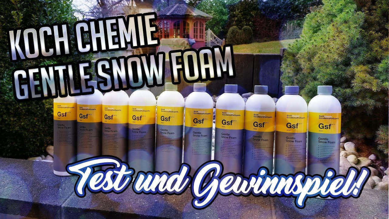 abonnenten gewinnspiel koch chemie gentle snow. Black Bedroom Furniture Sets. Home Design Ideas