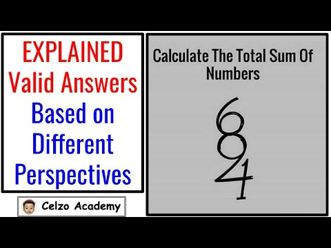 Calculate the Total Sum of Numbers! 684 Number Puzzle -How Many Numbers Can You See (2 and 3-digits)