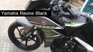 Yamaha Fazer Version 2.0 New Colours Ravine Black Hawk Model At Showroom | India