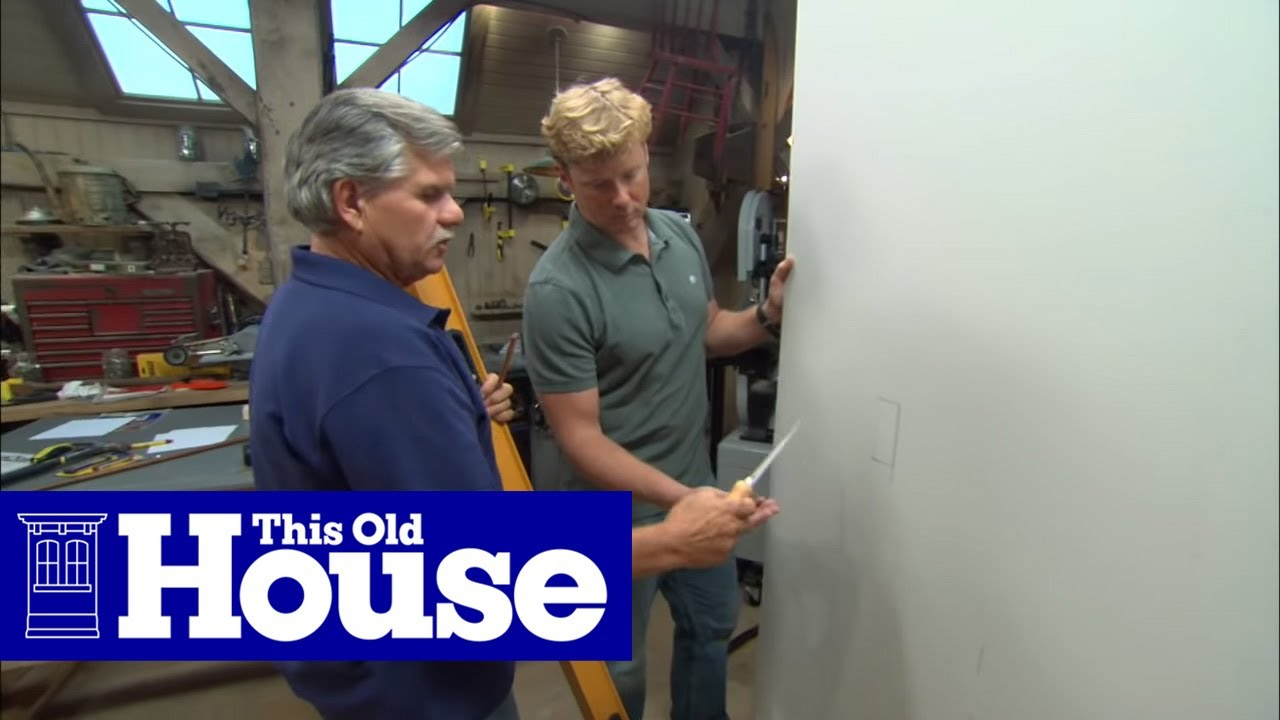 How to Mark for Electrical Boxes When Hanging Drywall | This Old House