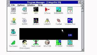 Microsoft Windows 3.1 Gaming Edition 1.0 Beta 1 Released