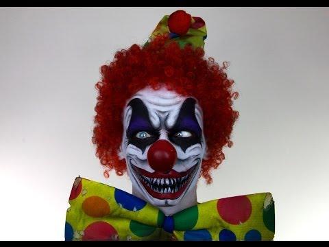 Scary Clown MakeUp Tutorial for Halloween | Shonagh Scott | ShowMe MakeUp