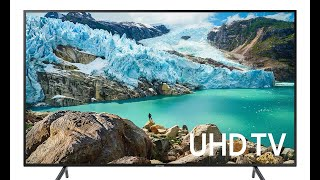 Samsung 65-Inch 4K TV Review - Samsung UN65RU7100FXZA 65-Inch 4K UHD Ultra HD Smart TV (2019 Model)