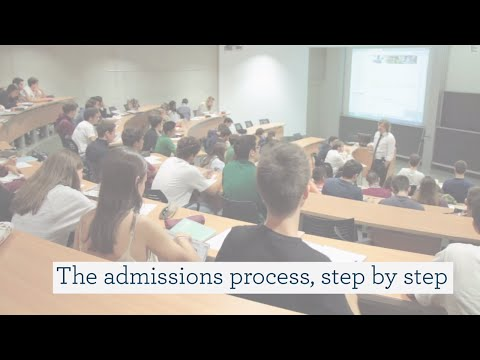 The BBA admissions process, step by step