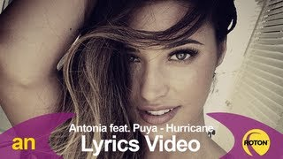 Antonia feat. Puya - Hurricane (Lyric Video)