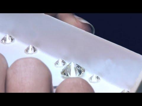 How to grade a diamond