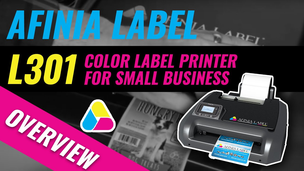 Color printer label - Afinia Label L301 Color Label Printer For Small Business