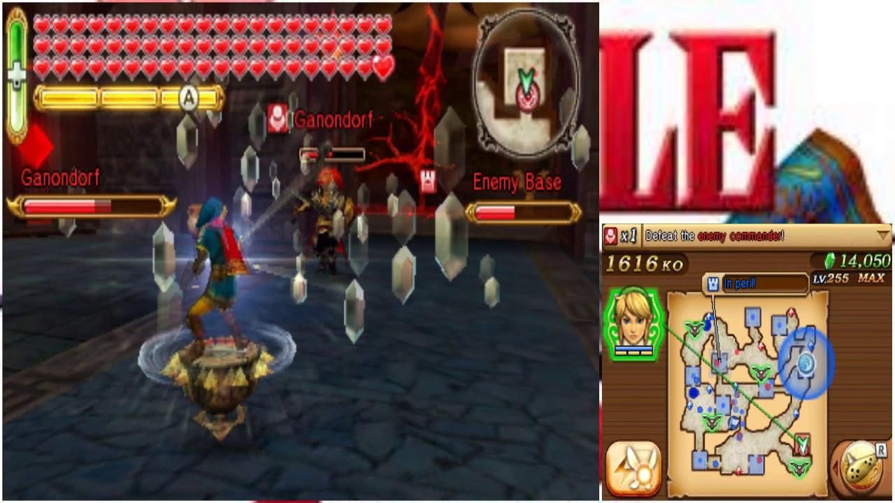 Hyrule Warriors Legends Adventure Mode Lorule Map Finale Youtube