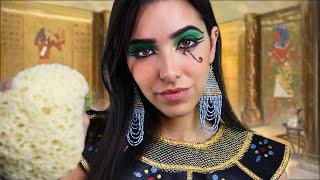 ASMR Spa Ancient Egypt  (Scalp Massage, Face Massage, Personal Attention, Sponge...)