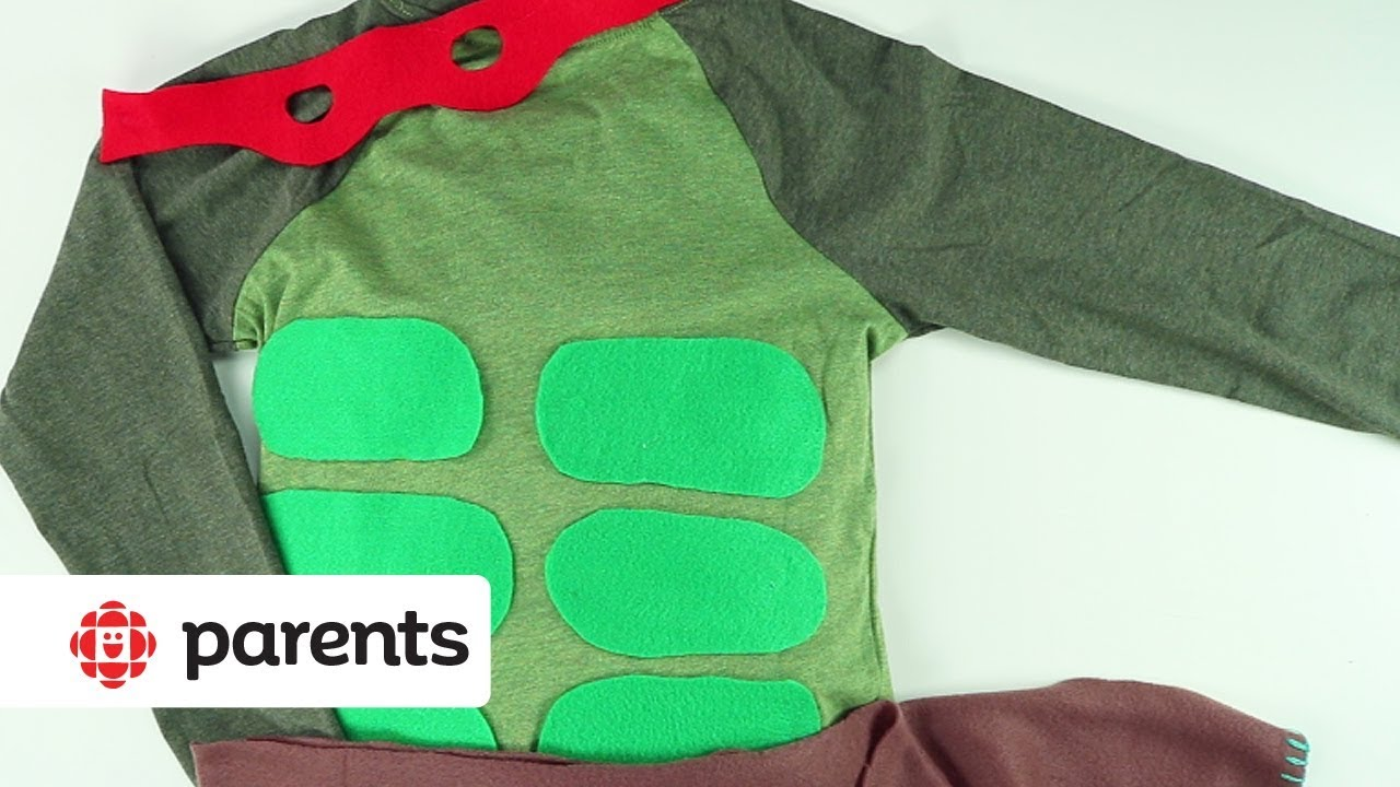 b47defd2629e8b Easy No-Sew Halloween Costumes: Ninja Turtle | Play | CBC Parents