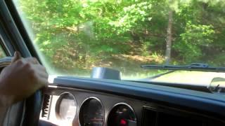Woodgas Truck Speed Test