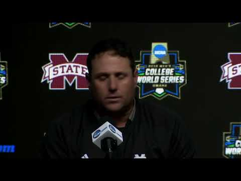 Scott Miller  - College World Series: Postgame Press Conference- Mississippi St vs Auburn