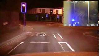 70mph police chase through streets of Plymouth, in Devon