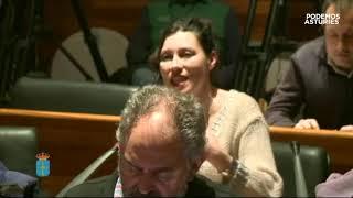 Nuria Rguez pregunta sobre el reglamento que permite la navegabilidad del embalse de Tanes.