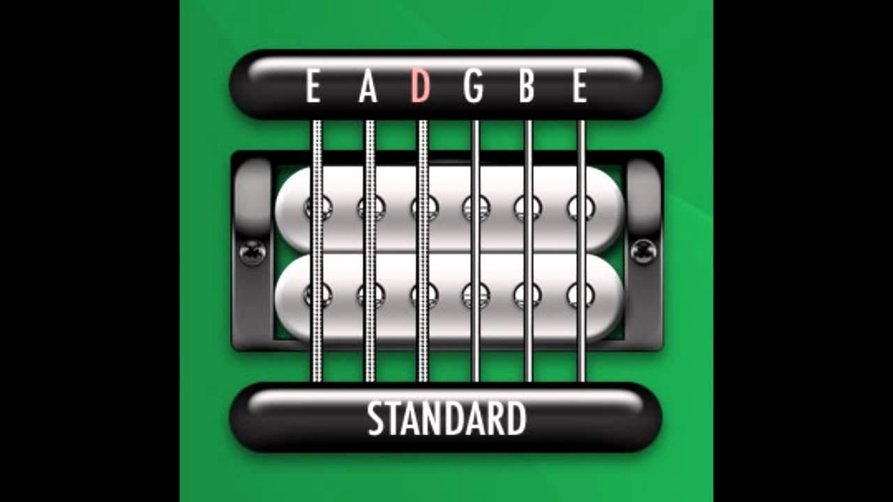 Perfect Guitar Tuner E Standard E A D G B E Youtube