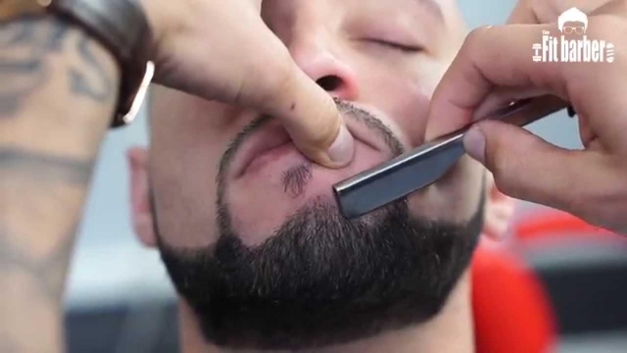 Skin Fade With A Beard Trim Haircut Tutorial Step By Step Youtube