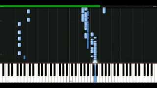Robert Miles - One And One [Piano Tutorial] Synthesia | passkeypiano