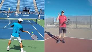 A Simple Tip To Hitting More Balls Crosscourt