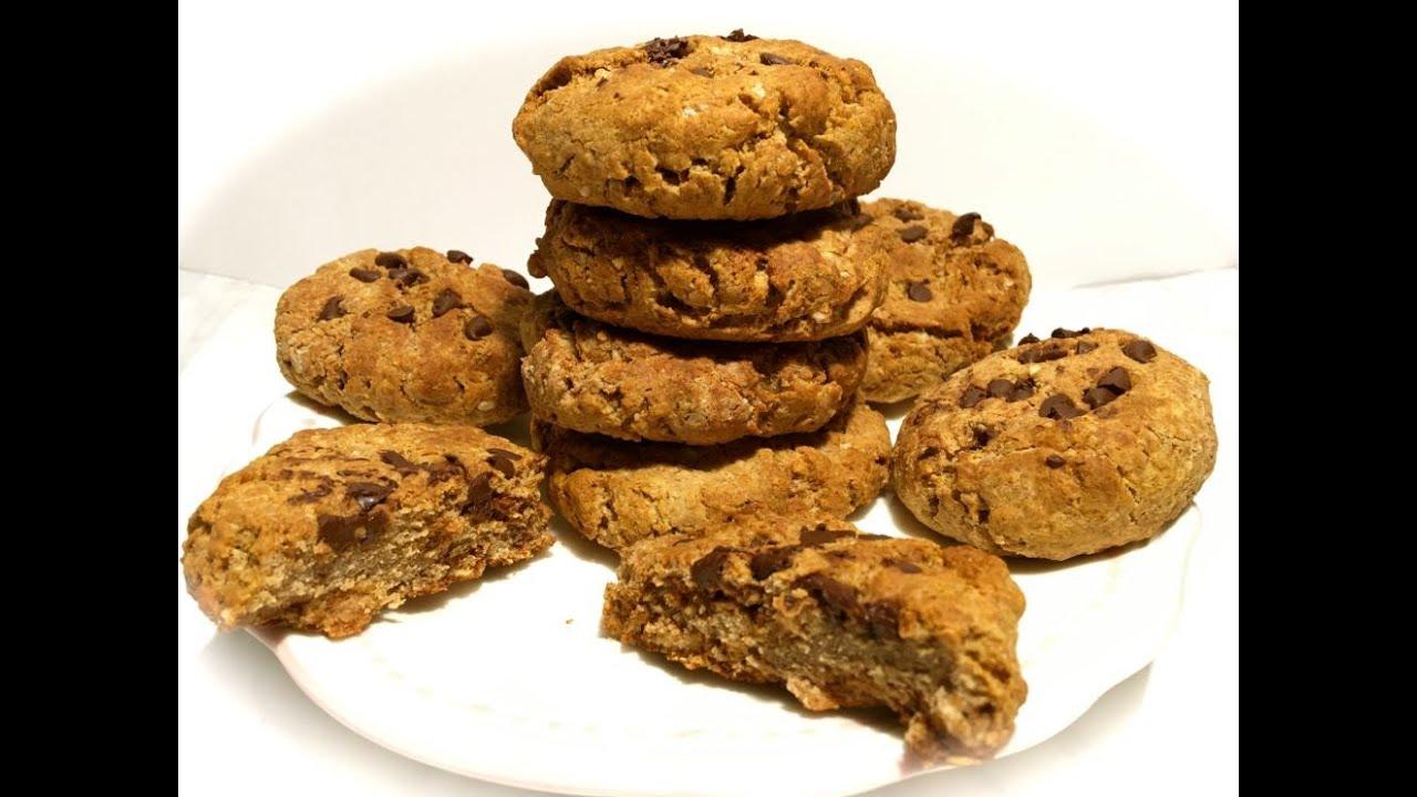 Sehr Recette cookies avec 15g de protéines - YouTube QI53