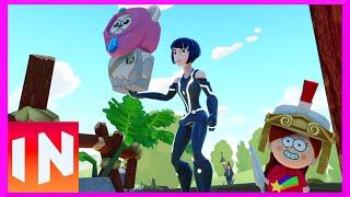 Disney Infinity 3.0 Ep2 - Toy Box Ps4 Gameplay With Tron Quorra!