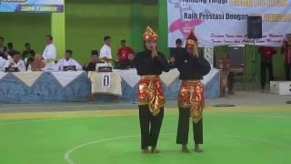 Download Video FINAL Seni Ganda Putri POPDA JATIM JUARA 3 PERUNGGU Wakil Dari Kab  Pasuruan ANDINI AYU P & KAMILATI MP3 3GP MP4