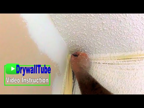 Another PERFECT Popcorn Ceiling Repair!