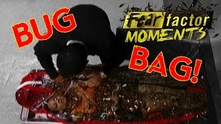 Fear Factor Moments | Bug Body Bag