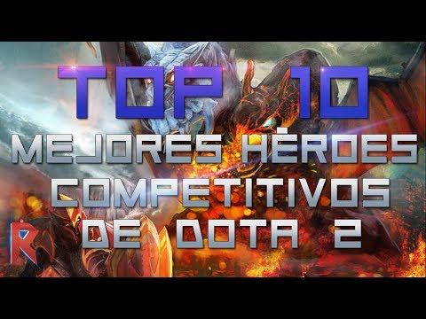Los MEJORES héroes de la historia del Dota 2 competitivo [TOP 10]