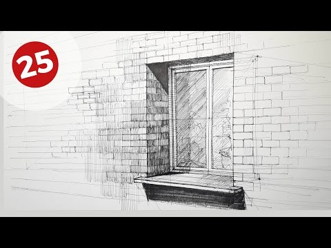 How To Draw A Window | Daily Architecture Sketches #25