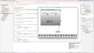 موالف الغيتار تصميم البرنامج المساعد (VST ، and AU ) باستخدام جوس
