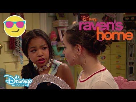 Raven's Home | SNEAK PEEK: Nia's Makeup Routine 💄 | Official Disney Channel UK