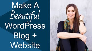 How To Create A Website + Blog With WordPress Twenty Thirteen 2013!