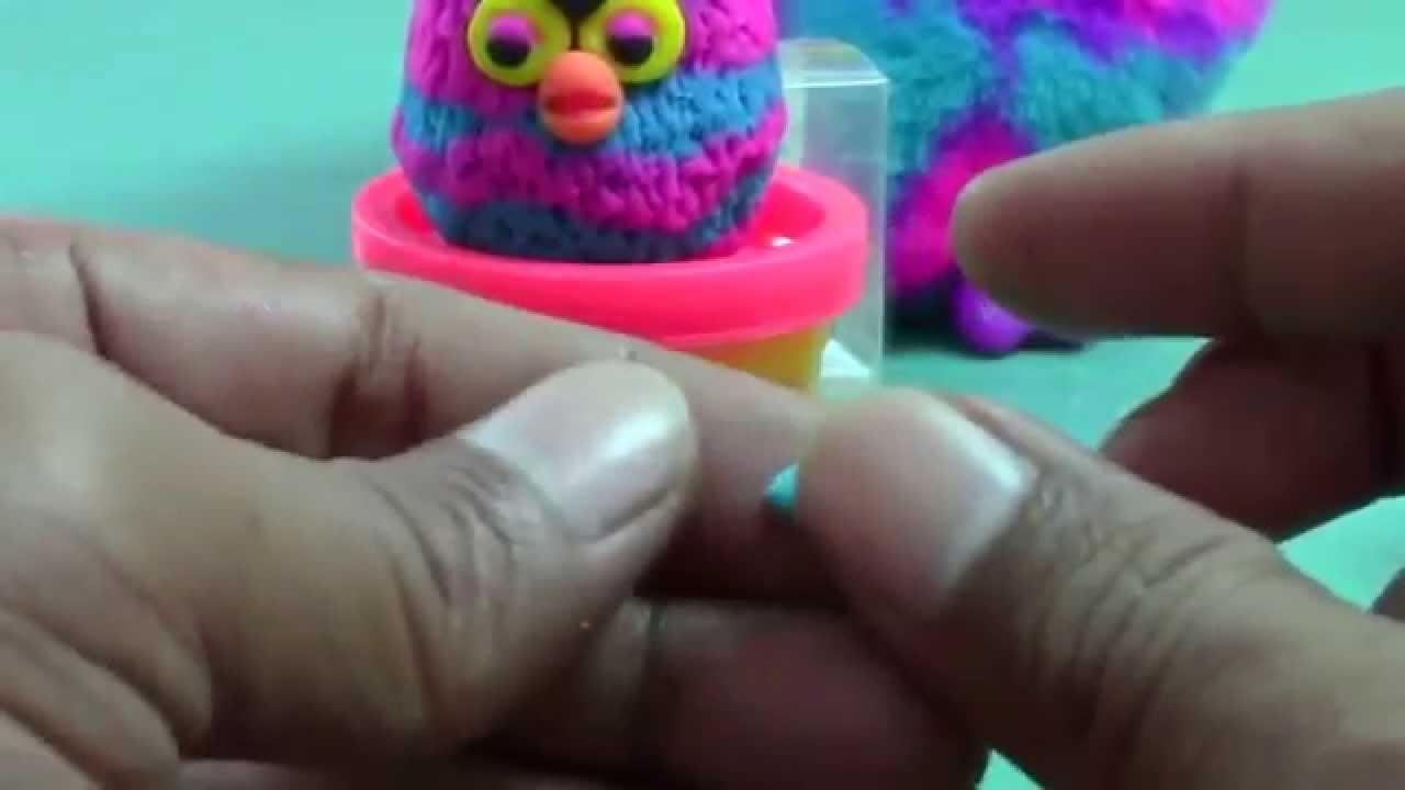 Как сделать из пластилина фёрби