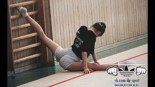 Гимнастика|Как сесть на шпагат?|Видеоурок|GYMNASTICS