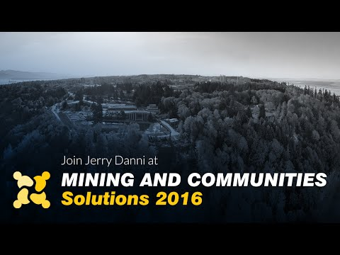 Jerry Danni on social license to operate, and the upcoming Mining and Communities Conference