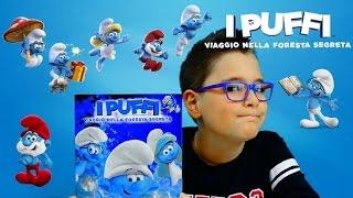 I PUFFI: VIAGGIO NELLA FORESTA SEGRETA - ALBUM E STICKERS - Leo Toys