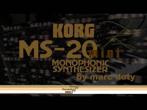 The Korg MS-20