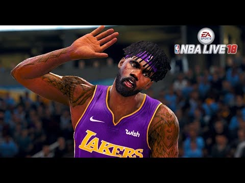 NBA LIVE 18 THE ONE CAREER - 35 POINT TRIPLE DOUBLE AND 60 POINT WIN!!