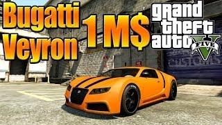 GTA 5 Online - Grand Theft Auto V Gameplay Bought Bugatti Veyron Tune Up & Test Drive [ Full HD ]