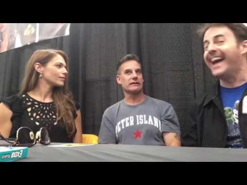 My Interview with Adrian Pasdar & Amanda Righetti at Geekinomicon OKC