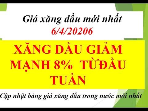 GIÁ XĂNG DẦU HÔM NAY 6/4/2020 GIẢM MẠNH TỚI 8% – BẢNG GIÁ XĂNG, DẦU TRONG NƯỚC MỚI NHẤT