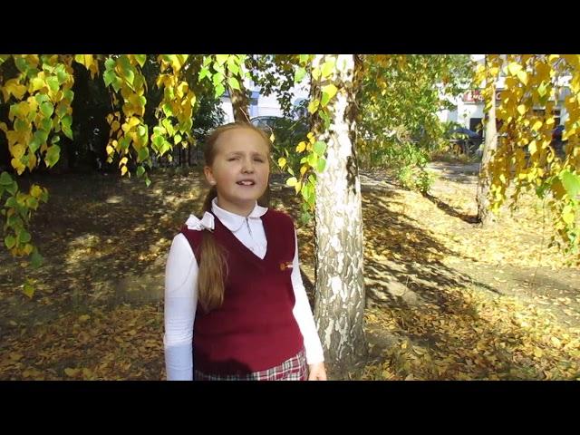 Изображение предпросмотра прочтения – ЕлизаветаЛогинова читает произведение «Осень.» И.С.Тургенева