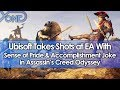 Ubisoft Takes Shots at EA With Sense of Pride & Accomplishment Joke in Assassin's Creed Odyssey