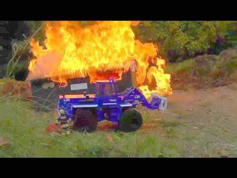 BEST OF RC FIRE TRUCKS! FIRE EQUIPMENT! HEAVY FIRE! BEST FIRE TRUCKS! RC LIVE ACTION youtube-editor