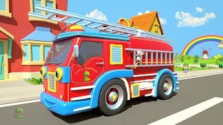 Wheels on the Bus & Vehicles | Kindergarten Nursery Rhyme for Kids | Cartoon Song | Little Treehouse